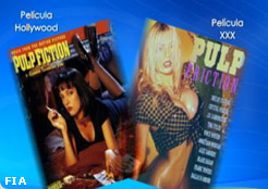 Venden versiones porno de filmes de Hollywood
